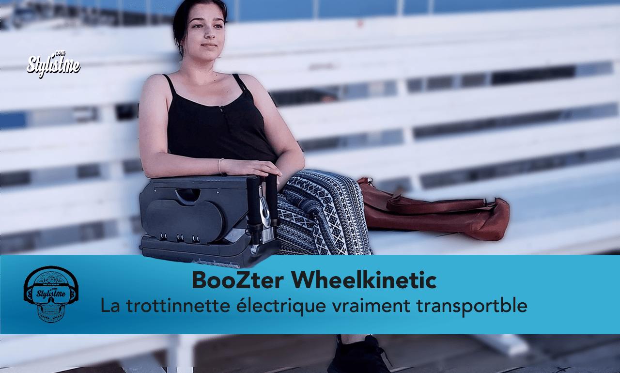 BooZter avis test trottinette électrique légère