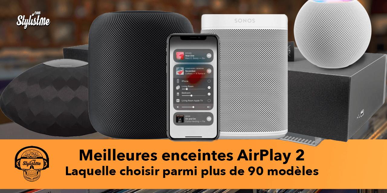 Meilleure enceinte AirPlay 2 : assistant vocal, multiroom ou stéréo