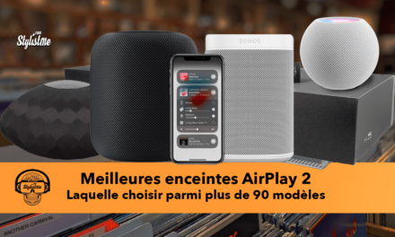 Meilleure enceinte AirPlay 2 : assistant vocal, multiroom ou stéréo