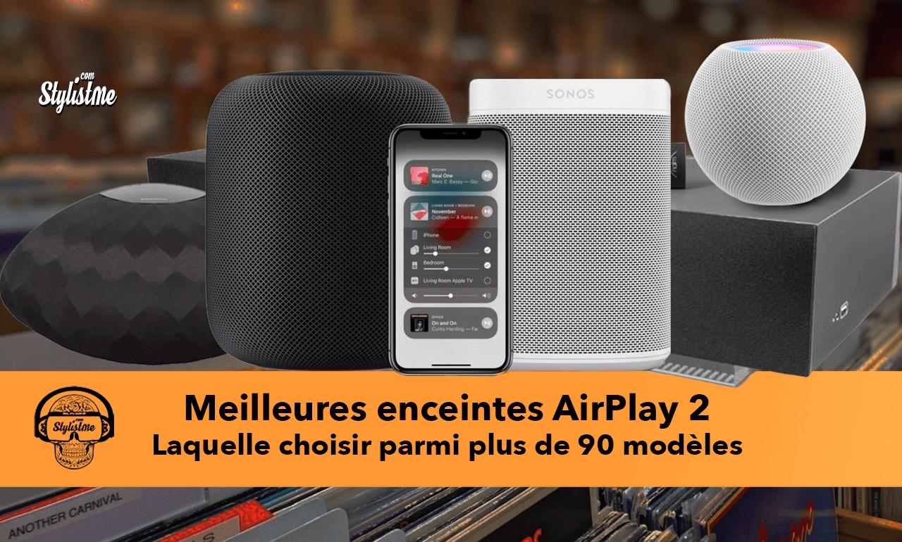 Meilleure enceinte AirPlay 2 2021