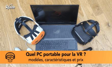 PC portable VR, quel ordinateur pour jouer en réalité virtuelle en 2021 (PCVR) ?
