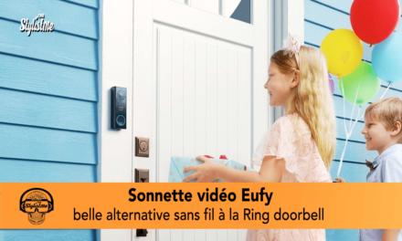 Sonnette vidéo Eufy Security et son carillon connecté