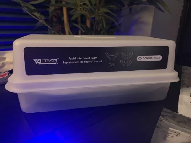 VR Cover mousse faciale Quest 2 unboxing