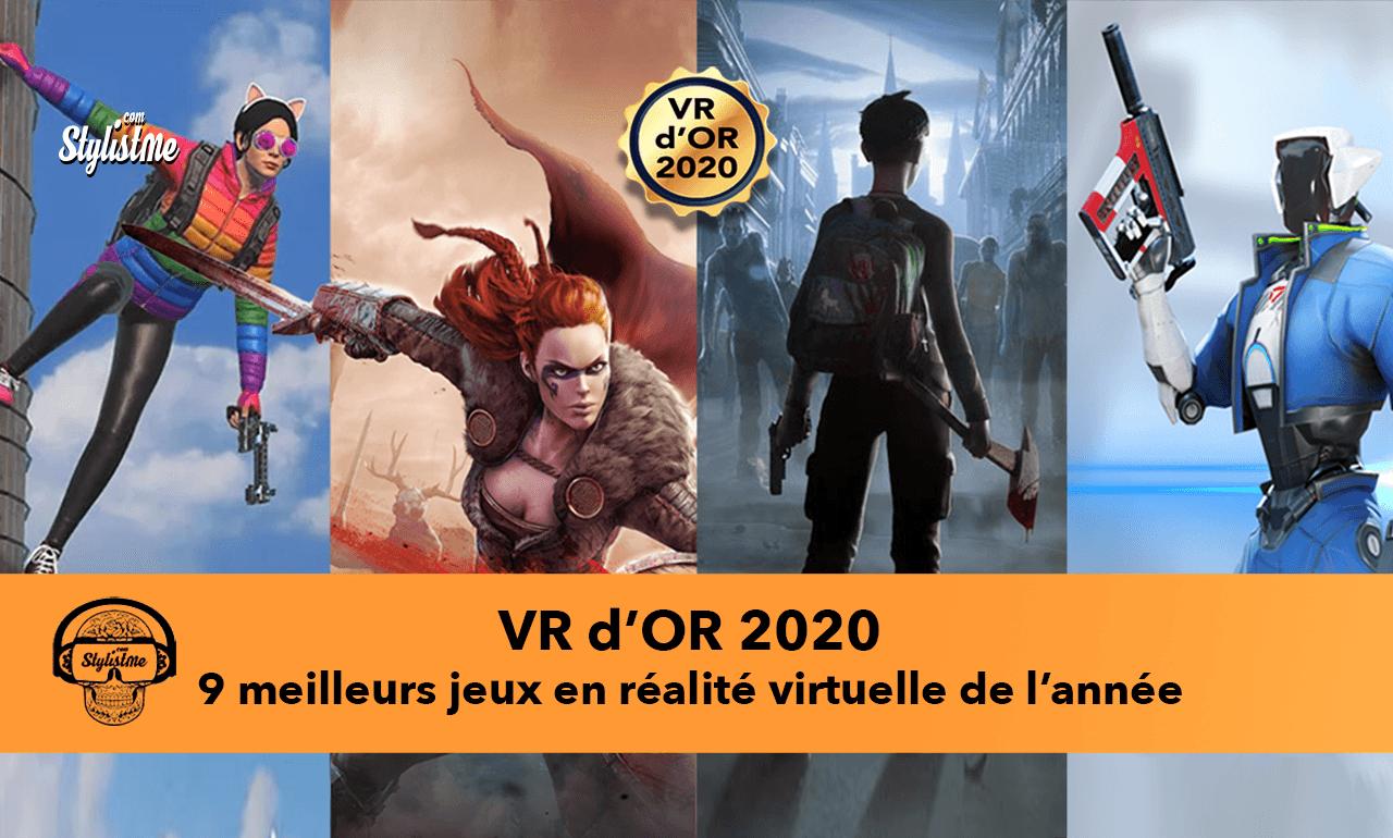 VR d'OR 2020 meilleurs jeux VR 2020