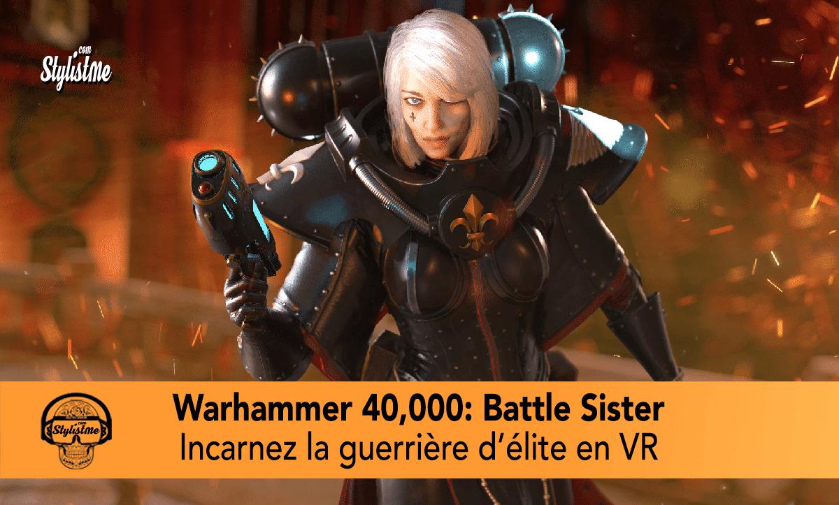 Warhammer 40000 Battle Sister Quest avis test