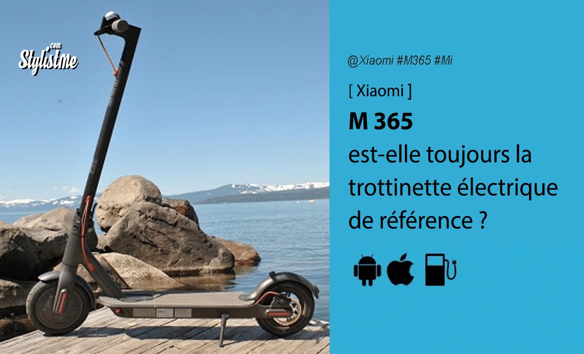 Xiaomi M365 avis test trottinette électrique