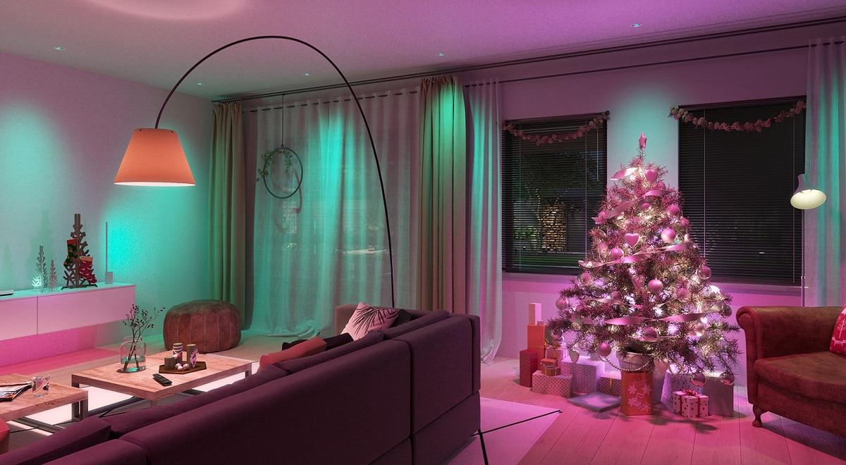 éclairage connecté Noël