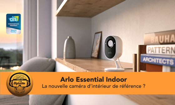 Arlo Essential Indoor caméra de surveillance qui respecte votre vie privée