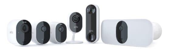 Arlo gamme caméras connectées