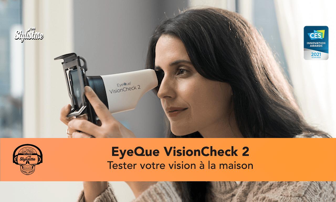 EyeQue VisionCheck 2 avis test