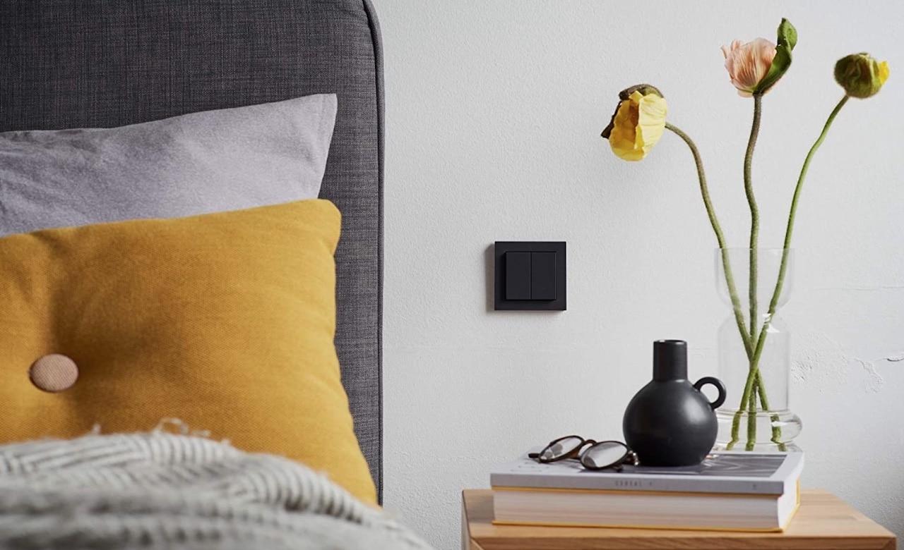Gira interrupteur Philips Hue design