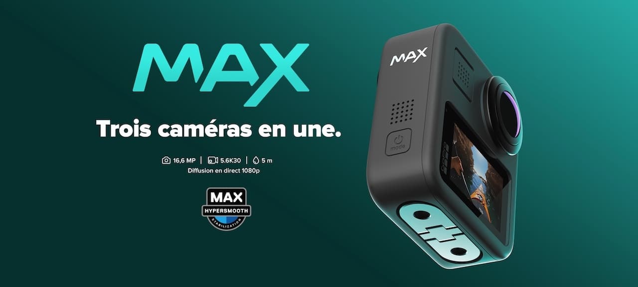 GoPro Max Comparatif caméra 360