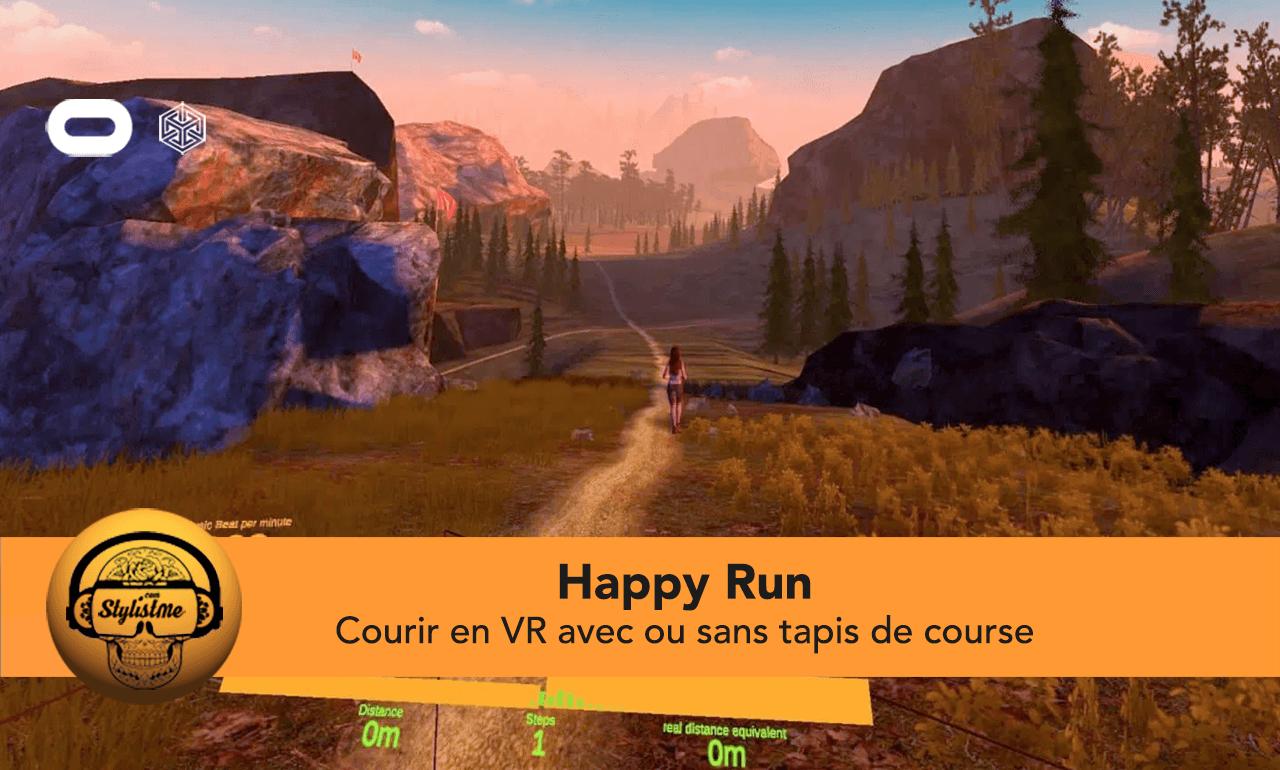 Happy Run test avis VR