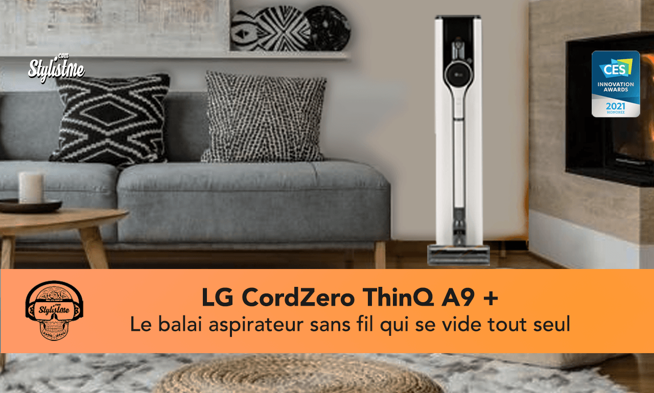 LG CordZero ThinQ A9 Kompressor Plus