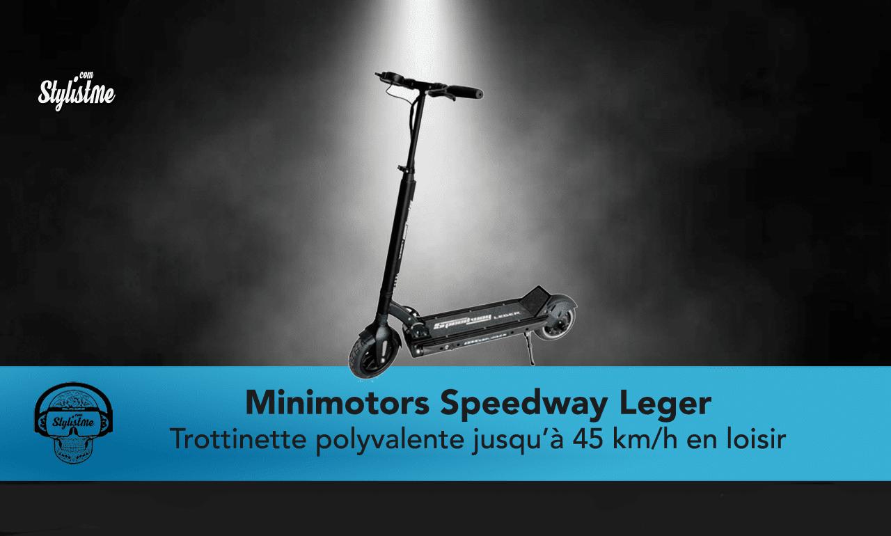 Minimotors Speedway Leger test avis