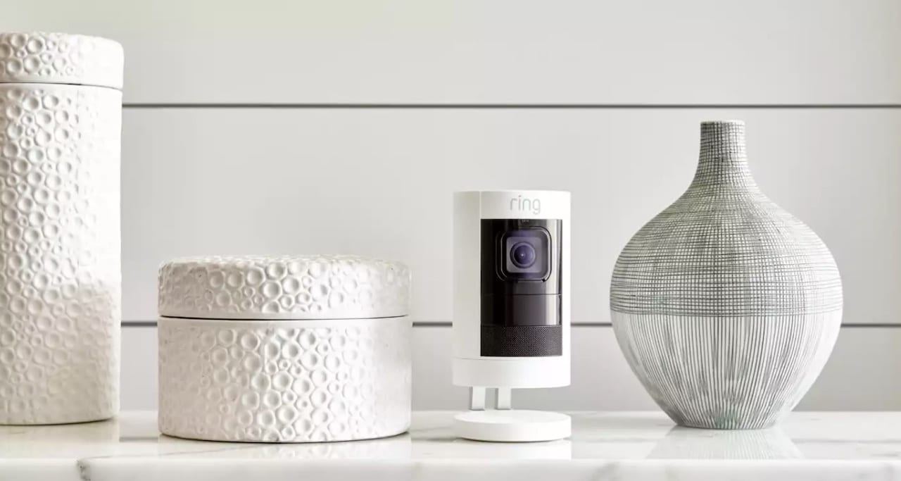 RIng Stick Up caméra vidéo surveillance
