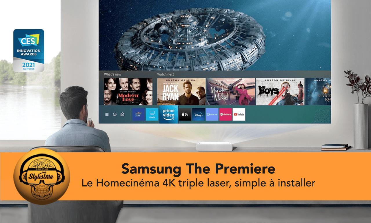 The Premiere Samsung vidéo projecteur courte focal laser 4K