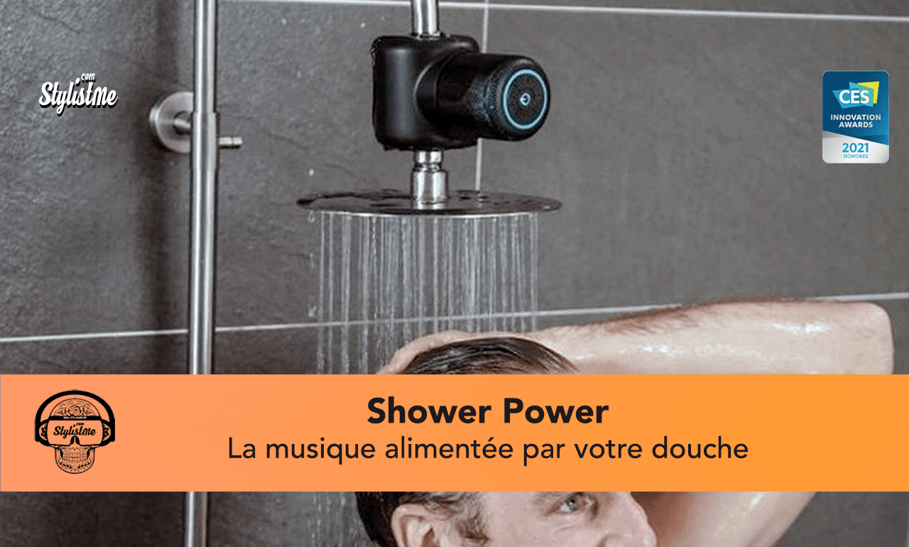 Shower Power avis test musique douche