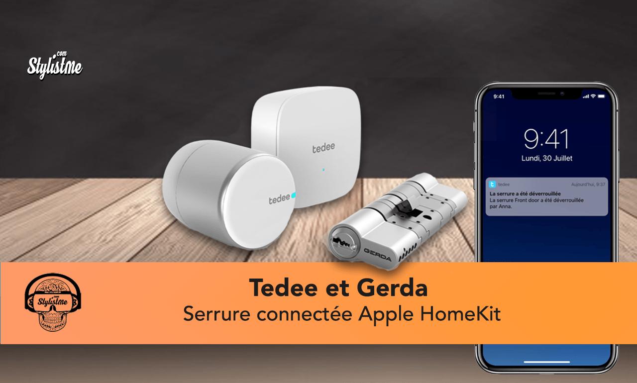 Tedee la serrure connectée Apple HomeKit certifié Gerda