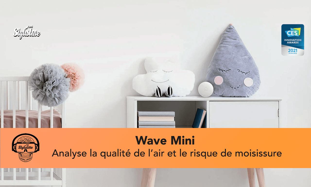 Wave mini analyse qualité de l'air connecté