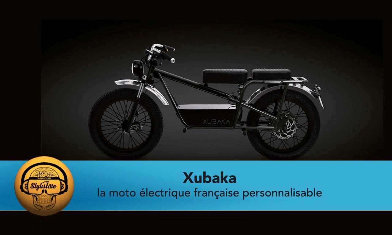 Xubaka moto électrique française