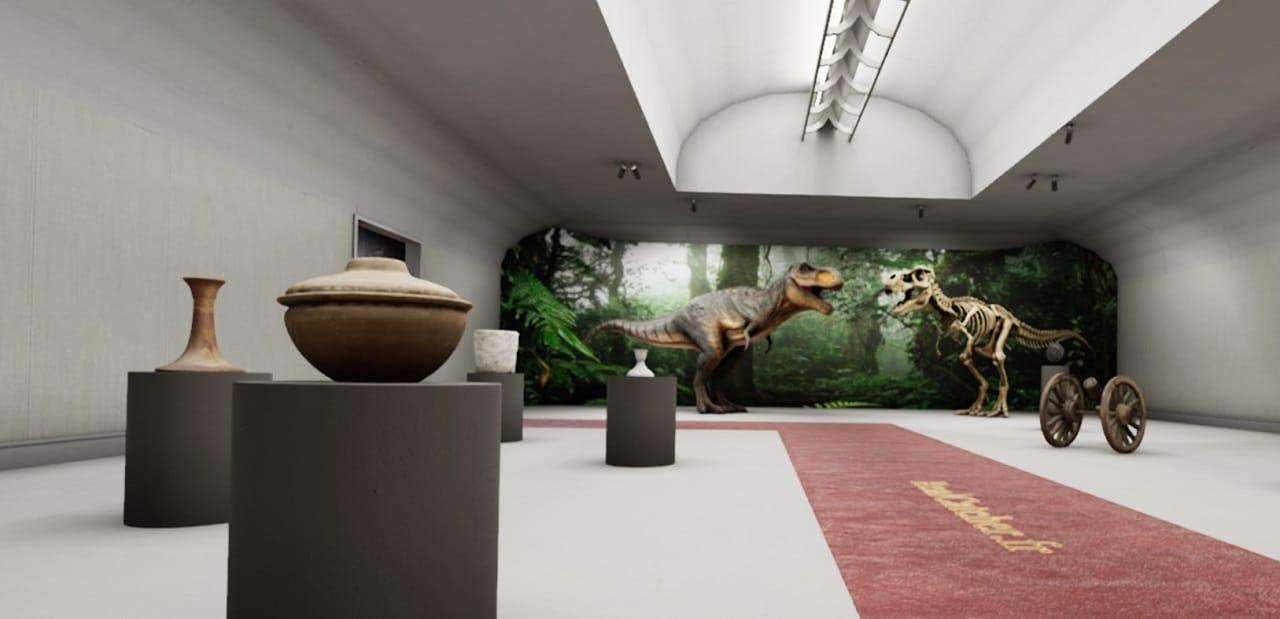 visite musée oculus Quest