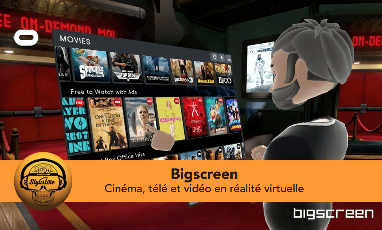 Bigscreen film gratuit tuto