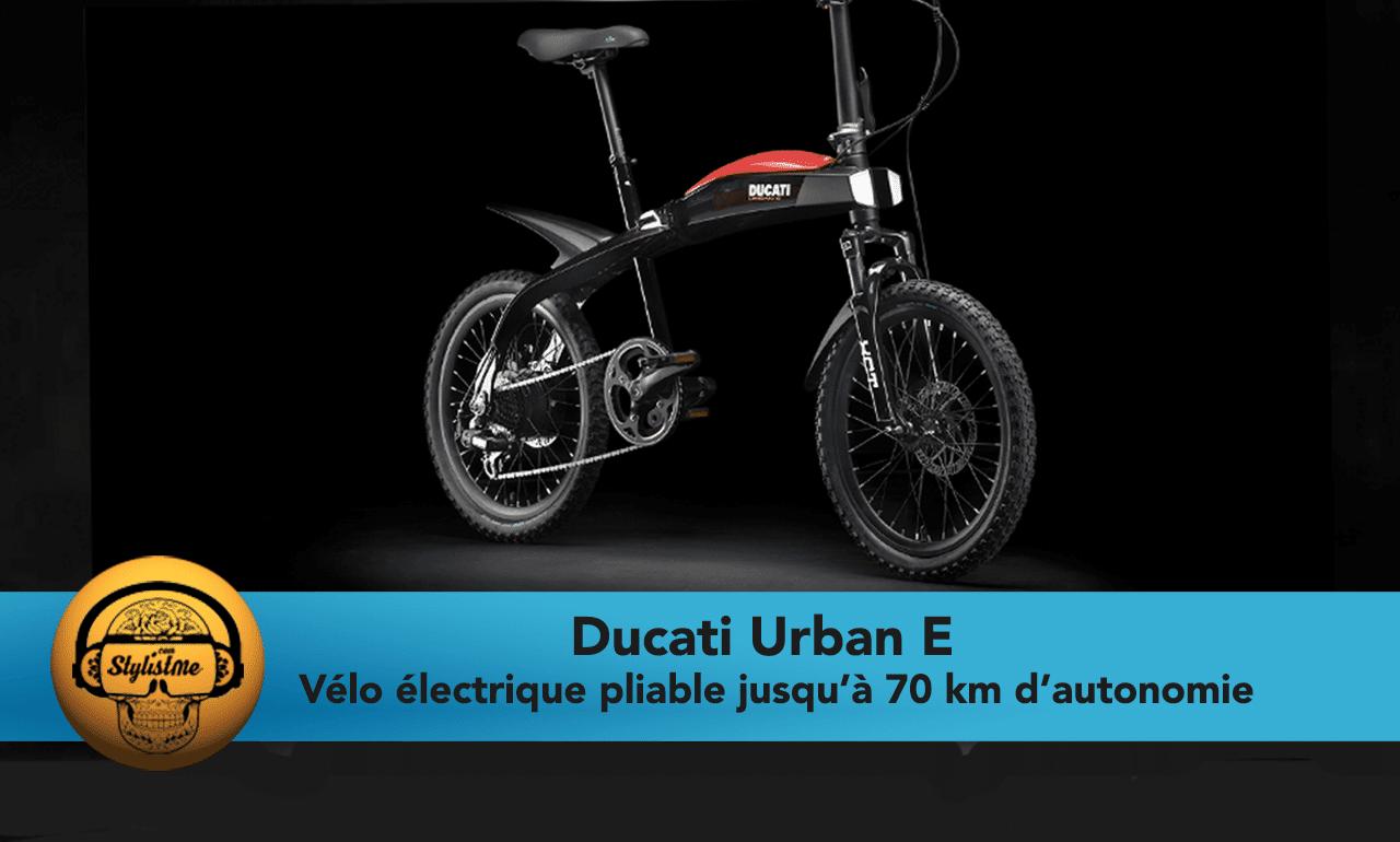 Ducati Urban E avis test prix