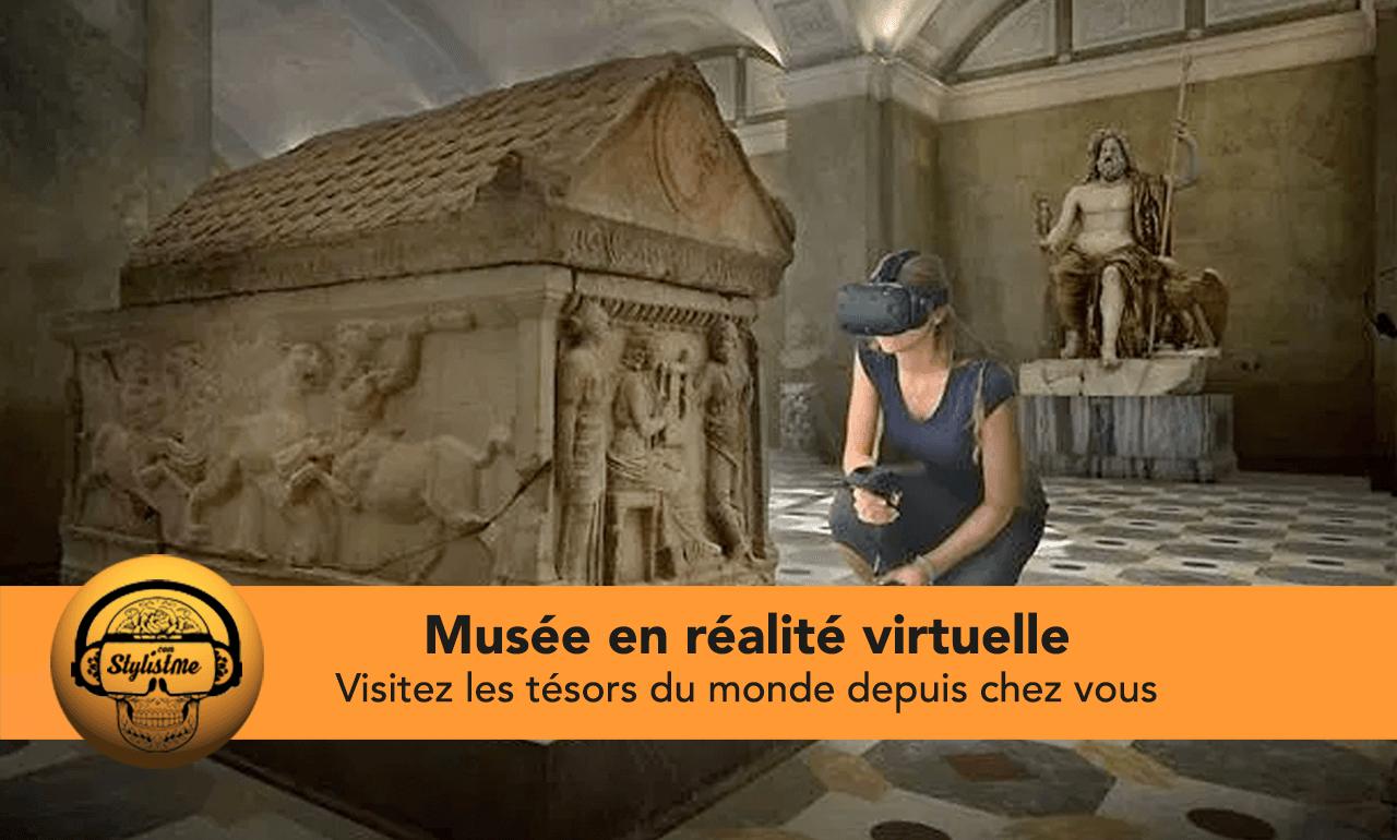 musée en réalité virtuelle