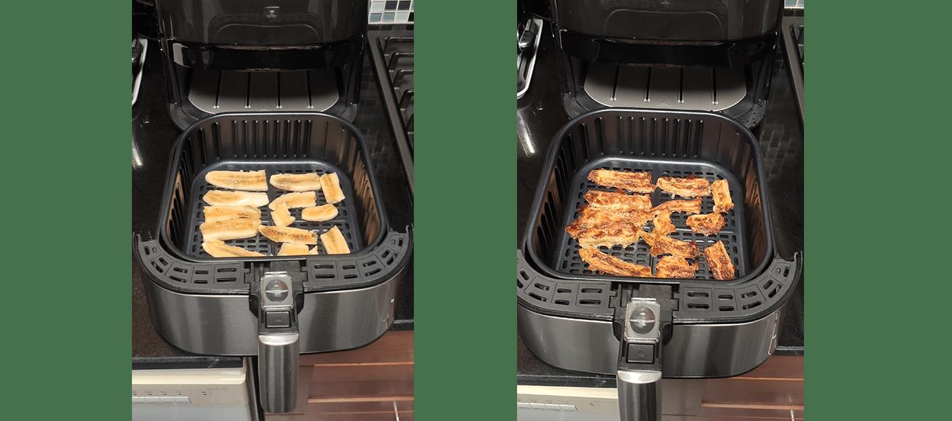 Chips banane test Proscenic friteuse à air