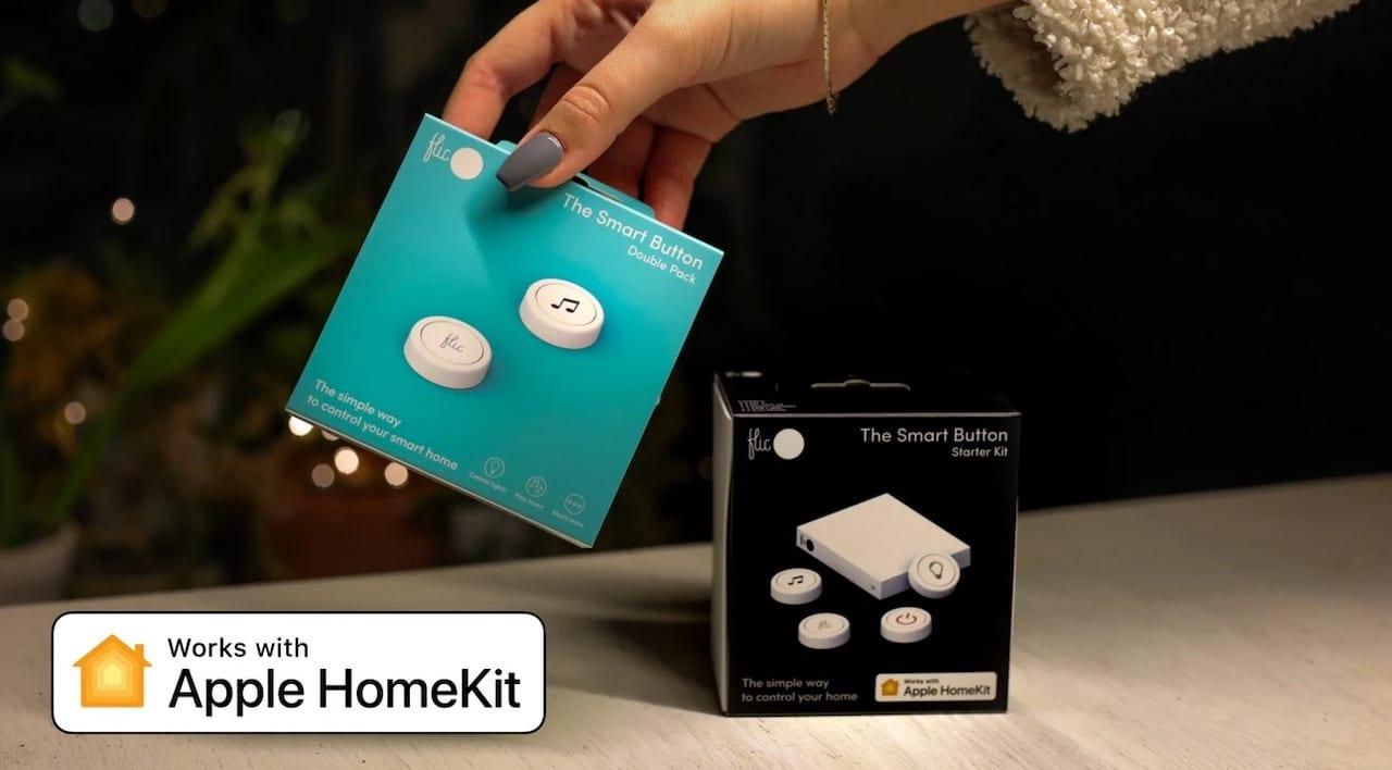 Flic bouton connecté Apple HomeKit