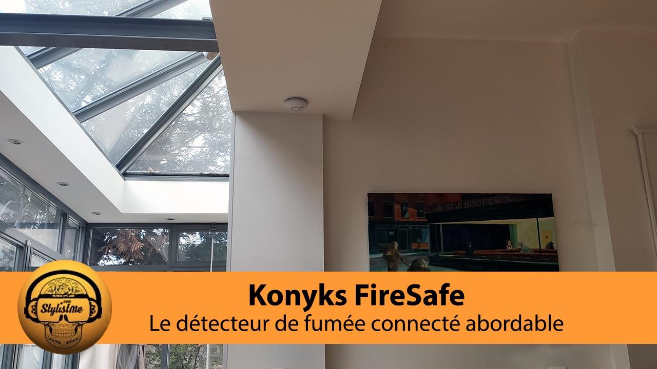 Konyks FireSafe test avis