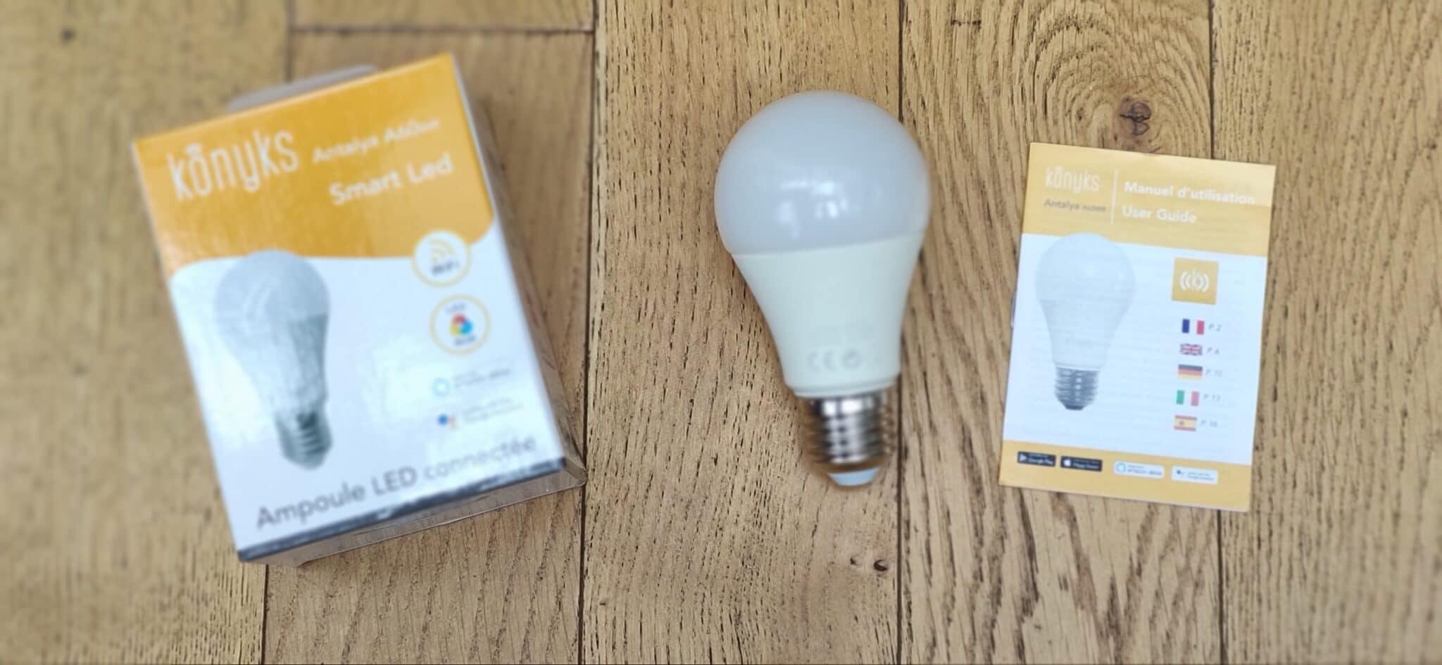 Konyks ampoule connectée