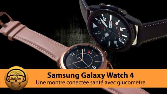 Samsung Galaxy Watch 4 avec ECG SPO2 et le nouveau MGC