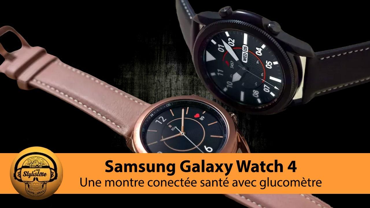 Samsung Galaxy Watch 4 avis test prix