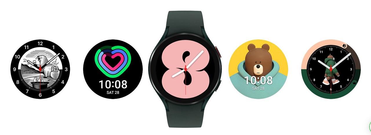 Samsung Galaxy Watch 4 personnalisation
