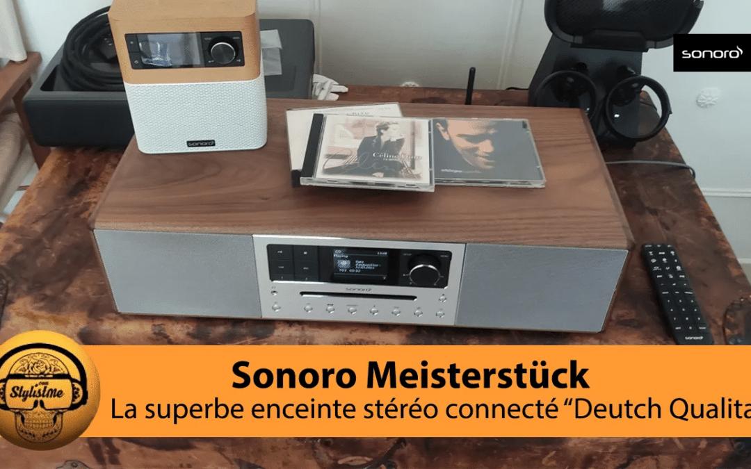 Sonoro Meisterstück : test de l'impressionnante enceinte connectée [Top 2021]