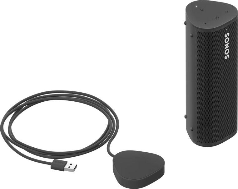 Sonos roam avec chargeur QI