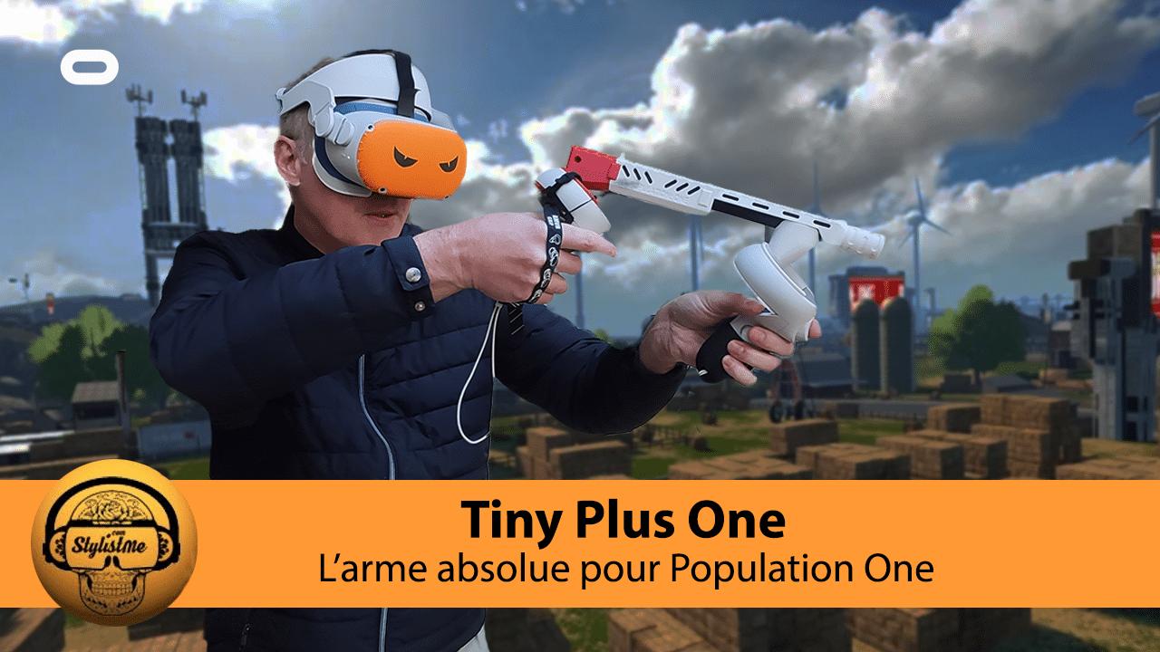 Tiny Plus test avis gunstock Oculus Quest 2