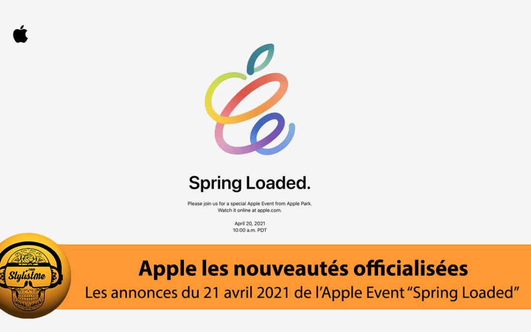 Apple Event 20 avril 2021 4 nouveautés : iPad Pro, iMac, AirTag et tv4K