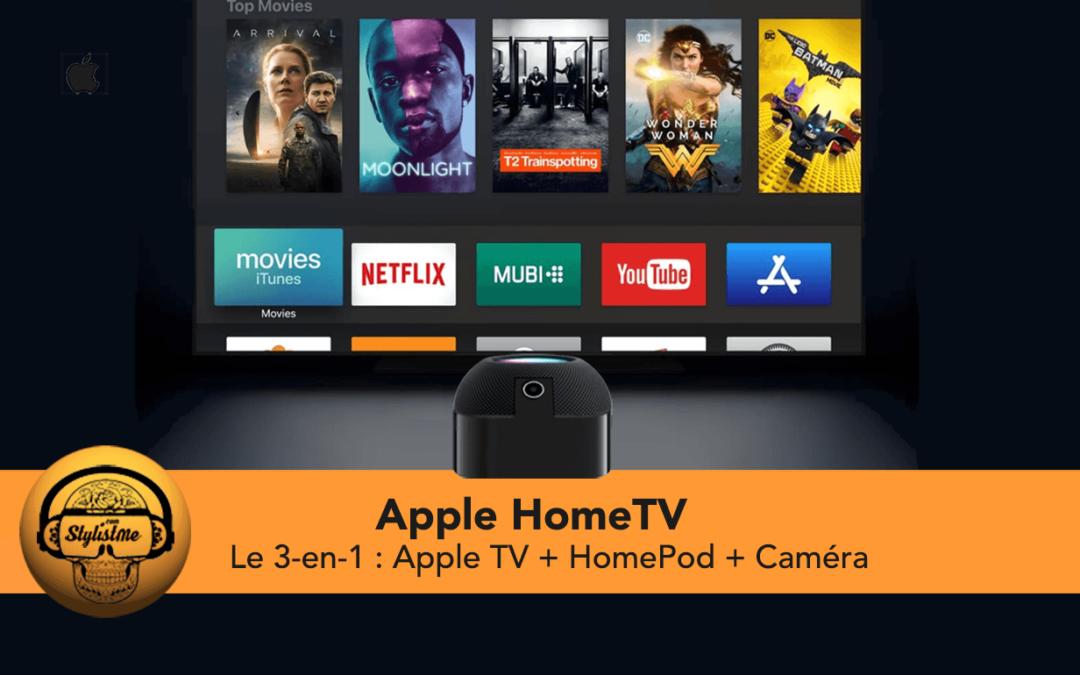 Apple HomeTV le 3-en-1 :enceinte, box TV et caméra avec Siri