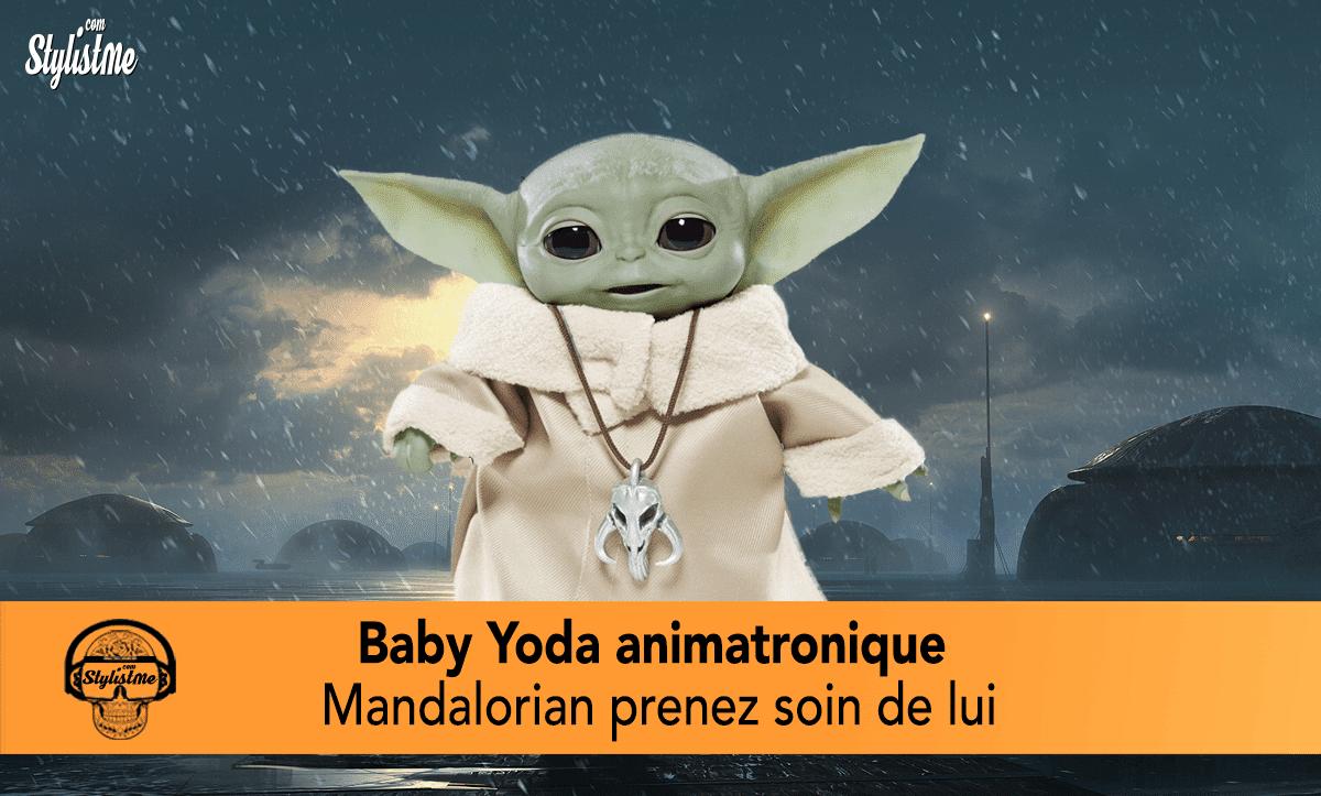 Baby Yoda animatronique avis