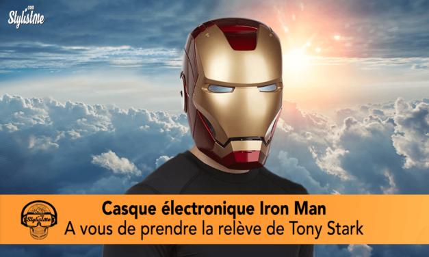 Casque électronique Iron Man : Prenez la relève de Tony Stark