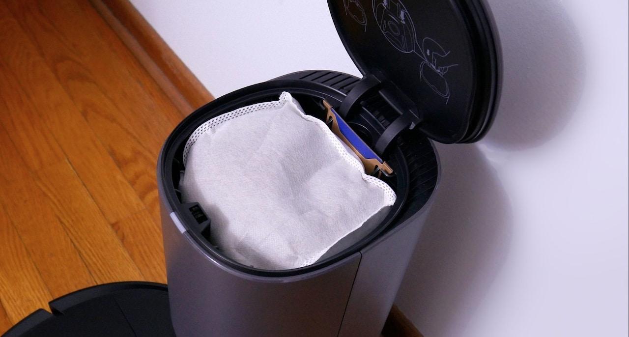 Ecovacs Deebot N8 Pro Plus sac vidage