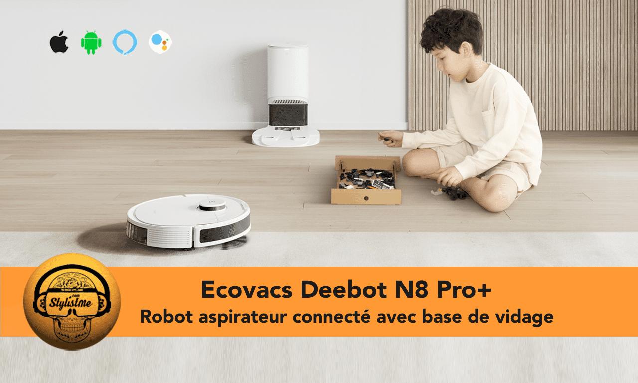 Ecovacs Deebot N8 Pro+ avis test