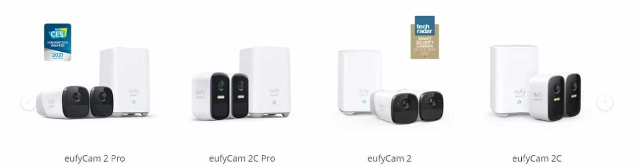 EufyCam test meilleure caméra 2021