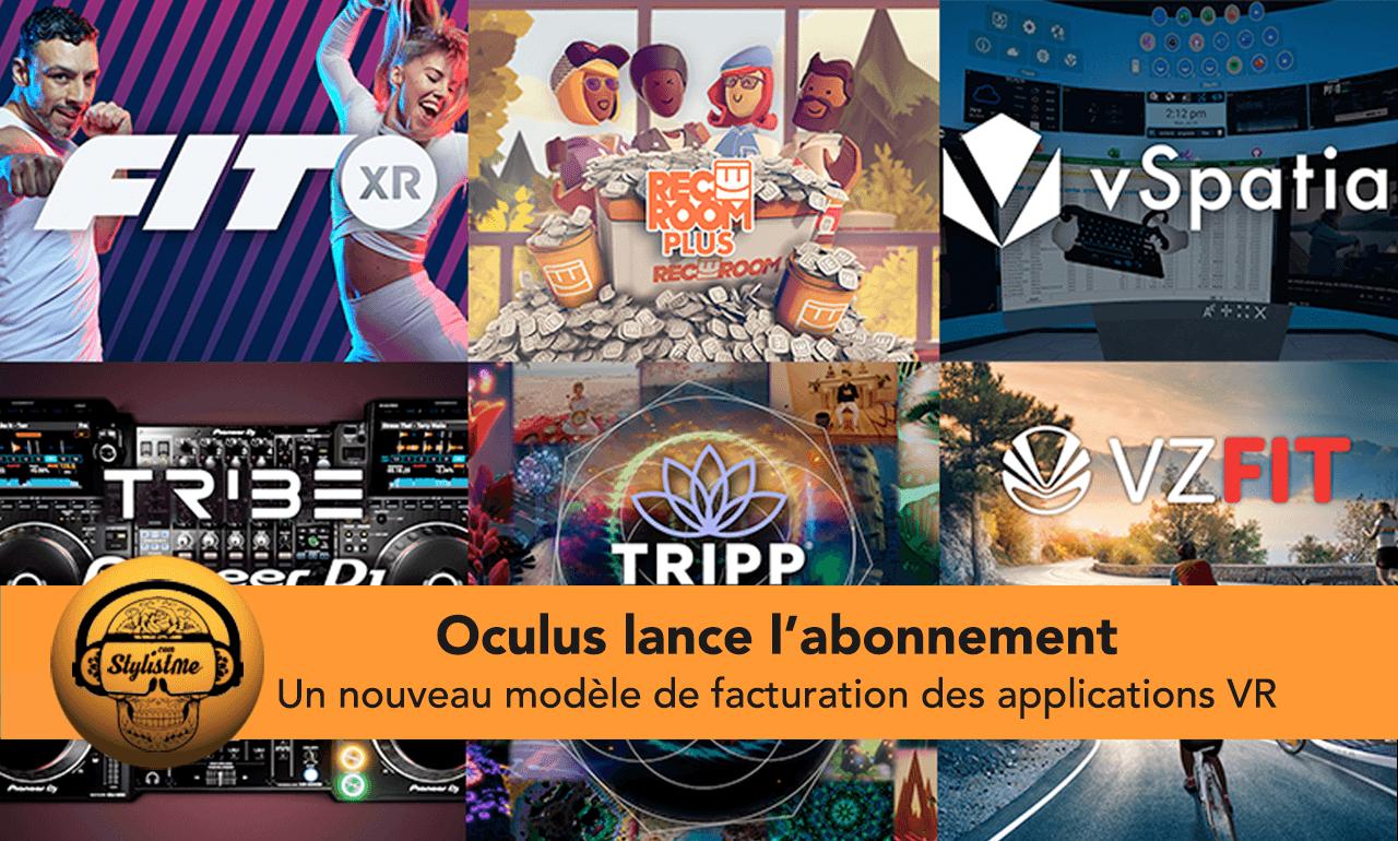 Oculus abonnement Quest
