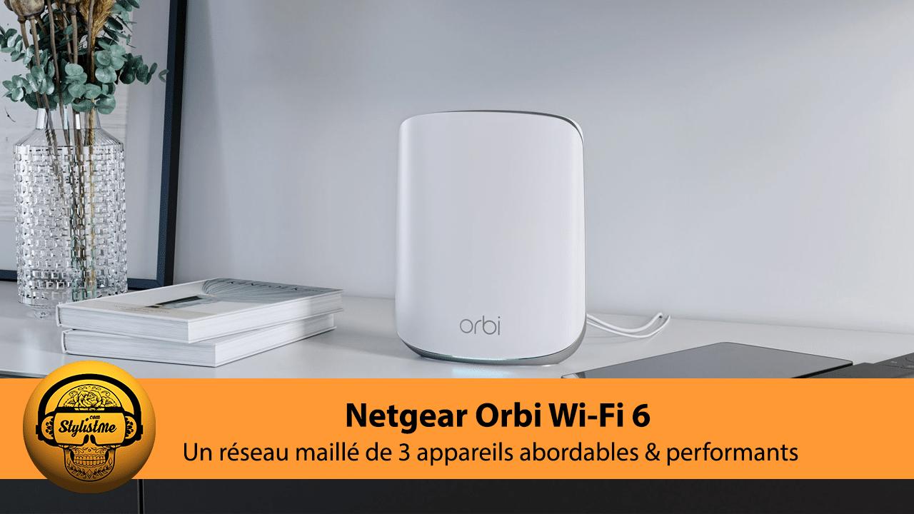 Orbi Wi-Fi 6 test avis RBK353