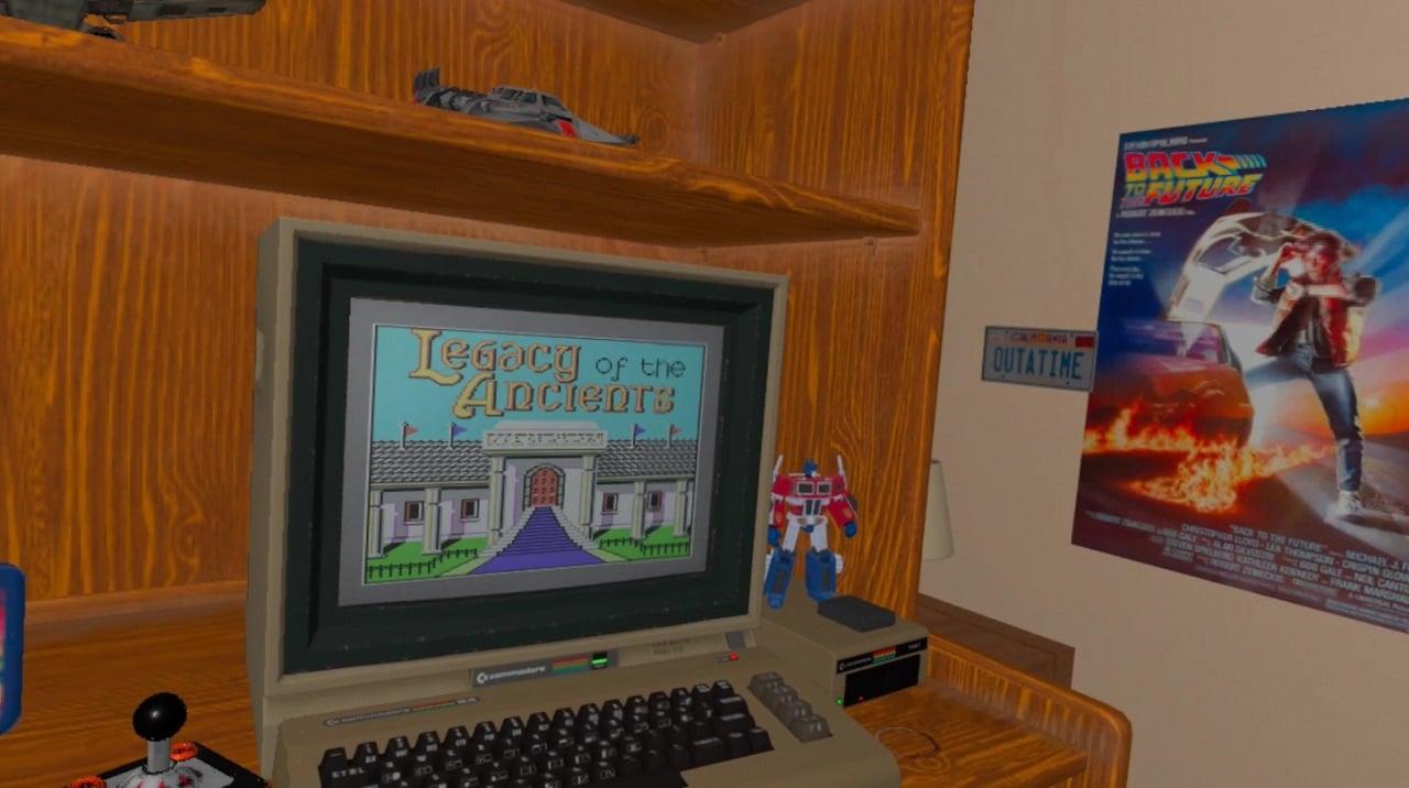 ROM jeux Commodore 64 Oculus Quest