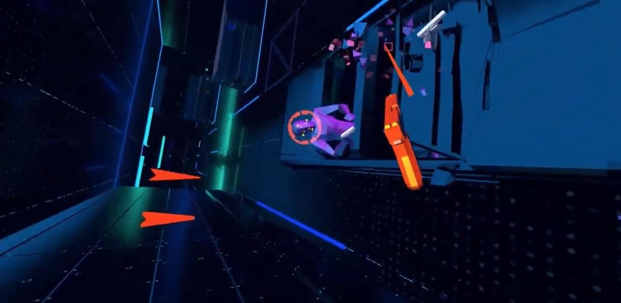 Against VR Stride Studio VR jeu de rythme